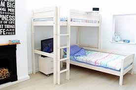 Thuka Bunk Bed Thuka Trendy High Sleeper D L Shaped Bunk Bed 150 Solid