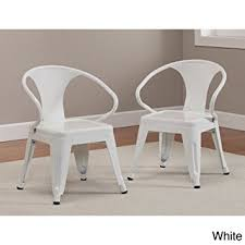 amazon com kids tabouret stacking chairs set of 2 white