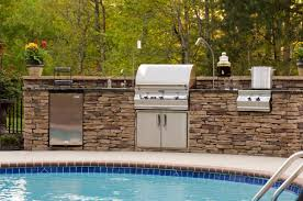 outdoor kitchen brick kitchen decor design ideas