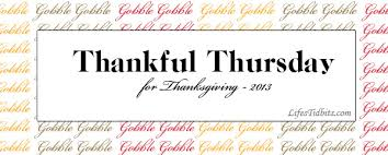 thankful thursday thanksgiving s tidbits