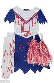 Halloween Costumes Dead Cheerleader Asda Fire Gory Halloween Costumes Children Daily
