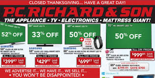 70 tv black friday p c richard u0026 son black friday deals 2016 full ad scan the