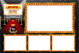 hollywood photo booth layout christmas party theme message rindaco