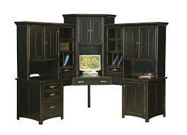 Home Office Desks With Hutch Corner Desk With Hutch Large Corner Computer Center Desk Hutch