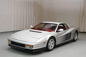 ferrari coupe classic 1990 ferrari testarossa coupe hyman ltd classic cars