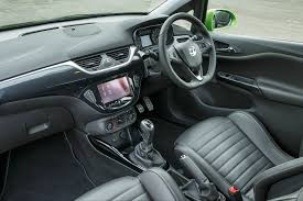 opel astra opc interior first drive review vauxhall corsa vxr 2015