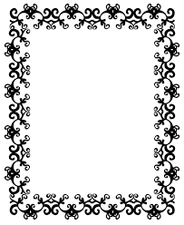 Halloween Picture Borders by Halloween Page Borders Landscape Snowjet C Clip Art Library