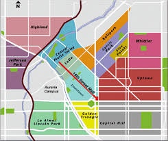 denver neighborhood information metro area and front range