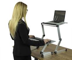 affordable sit stand desk cheap ergonomic laptop standing desk kit compact and adjustable
