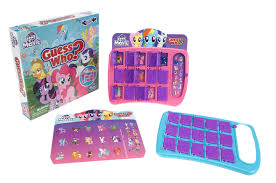 my little pony the movie friendship festival guess who game
