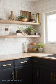kitchen best open kitchen shelving ideas on pinterest excellent