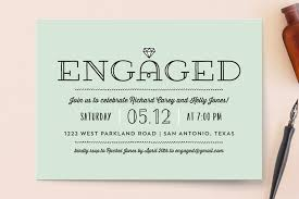 engagement party invites 19 festive engagement party invitations that won t the bank