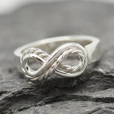 mothers infinity ring infinity ring knot ring bridesmaid gift ring