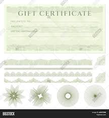 Free Cheque Template Gift Certificate Voucher Coupon Template Banknote Money