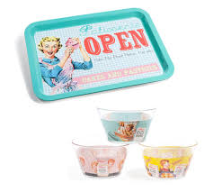 objet deco retro déco de cuisine u0026 vaisselle pastel et vintage