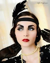 1920s womens hairstyles 1920s wedding makeup red lips 20er pinterest makeup red lips
