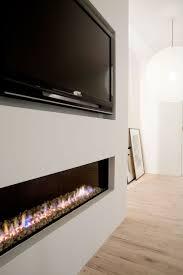 long electric fireplace binhminh decoration