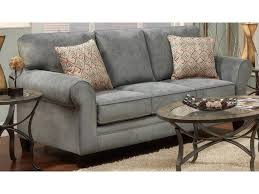 King Hickory Sofa by J Henry Tanglewood Stationary Sofa With Rolled Arms And Exposed