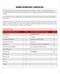 doc 585540 household inventory list template u2013 home inventory