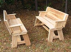 Folding Bench Picnic Table The Crossroads Workshop Mayesville Sc Tables
