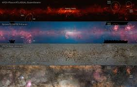 Milky Way Map Amazing New Map Of The Milky Way Reveals Where Stars Form