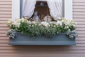 Wooden Window Flower Boxes - 30 bright and beautiful window box planters midwest living