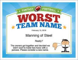 fantasy football certificates award templates for ffl
