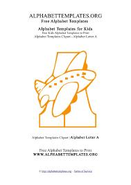 alphabet templates for teachers letter a alphabet templates org