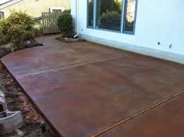 Color Concrete Patio by Patio Paver Lovely Acid Staining Concrete Patios For Large Format