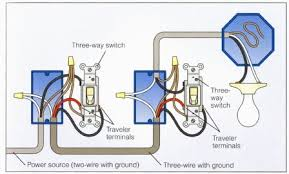 automated 3 way switches what should my wiring look like us