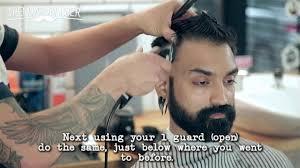 skin fade side part men u0027s haircut tutorial nomad barber youtube