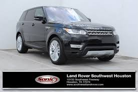 land rover sport 2017 land rover range rover sport in houston tx