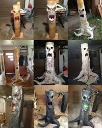 Backyard Haunted House Ideas Diy Scary Halloween Decorations Front Yard Decoration Ideas Zombie