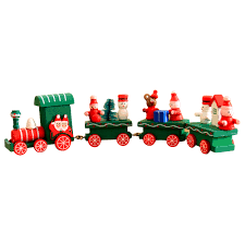 online shop christmas decorations woods small train children