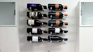 wall mount and hanging wine racks by vinogrotto