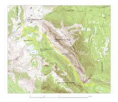Colorado Lakes Map by Bear Creek And Lakes Trails Mount Zirkel Wilderness Area Colorado