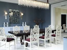 luxury dining room with trendy lights dining room lighting ideas