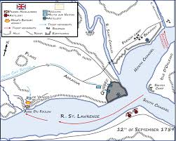 Battle Of New Orleans Map by Battle Of The Plains Of Abraham Wikipedia