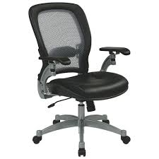 Black Leather Office Chairs Space Seating Leather Office Chair Black Office Chairs Best