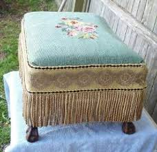Foot Ottomans 177 Best Foot Stools Images On Pinterest Embroidery Tapestry