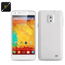 white 2 rom android note 3 mini 5 inch octa smartphone dual sim 1 7ghz cpu