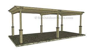 10 X 20 Pergola Kit by 12x24 Free Pergola Plans Myoutdoorplans Free Woodworking Plans
