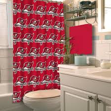 amazon com nfl tampa bay buccaneers shower curtain home u0026 kitchen