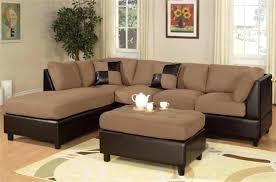 Leather Cloth Sofa Leather And Fabric Sofas Adrop Me