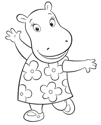 tasha backyardigans coloring pages backyardigans coloring pages