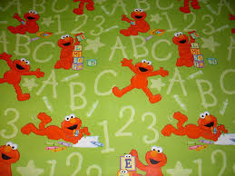 elmo christmas wrapping paper sesame elmo gift wrap roll sheet pop up bows