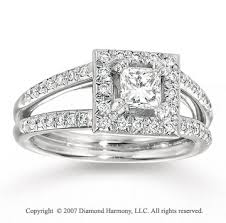 5 carat engagement ring white gold princess 4 5 carat diamond engagement ring