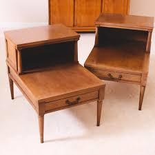 mid century end table pair of vintage mid century end tables ebth