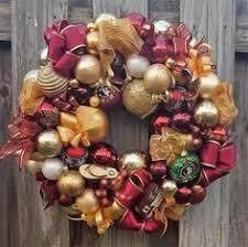crafted 22 patriotic americana glass ornament wreath usa