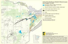 Minnesota State Map Many Questions But Few Answers About Mineral Exploration Impacts